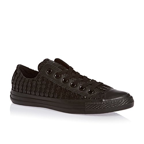 Converse CT All Star Ox Black Black Womens Trainers -