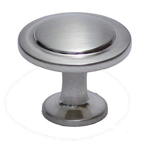 10 Pack - Hamilton BowesSatin Nickel Cabinet Hardware 1-1/4