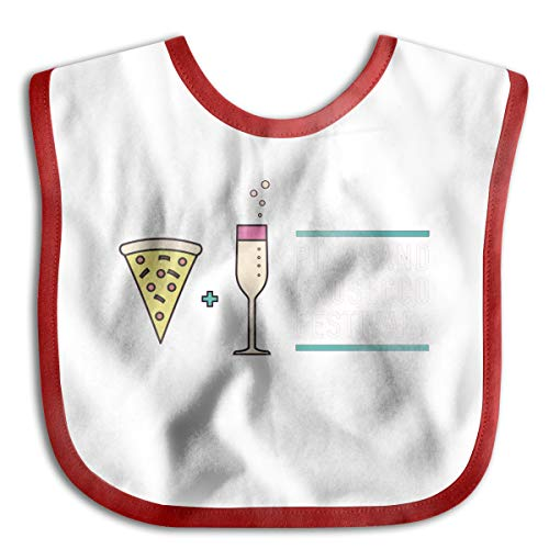 Price comparison product image Children's Waterproof Bibs Pizza Prosecco Festival Baby Skin Wrap SuperBib Babies&Toddlers