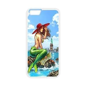 Iphone 6 Little mermaid Phone Back Case Art Print Design Hard Shell Protection YT039449