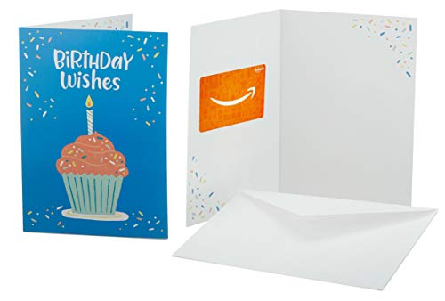 Amazon.com Gift Card in a Greeting Card (Birthday Celebration Design)