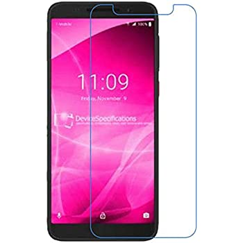 T-Mobile REVVLRY+ Plus Tempered Glass Screen Protector,IDEA LINE Anti-Scratch, Anti-Fingerprint, Bubble Free, Full Screen Coverage 1 Pack with Lifetime Replacement Warranty