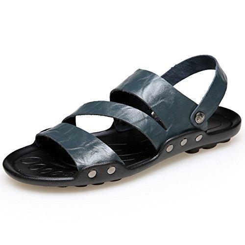 Tide Xing Sandalen Herren Rutschfeste Schuhe Die Strand 551 Sommer Lin 44 Hausschuhe Outdoor Extra Sandalen Hausschuhe 4748 Schuhe Herren Große Männer Männer Blau 8rqx8ES