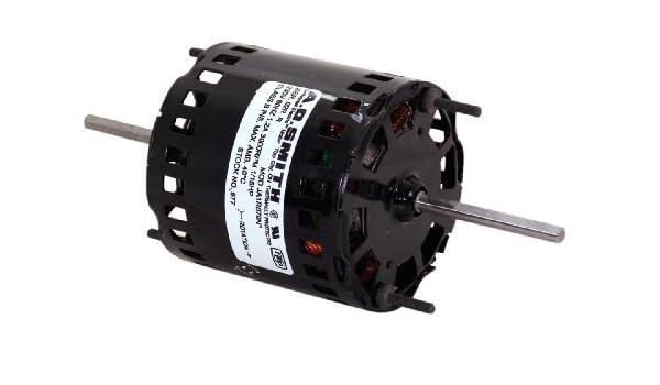 AO Smith 10 Fan Coil 0.57-Amp 3.3-Inch Frame Diameter 115-Volt 1//125 HP Sleeve Bearing Aosom 1550 RPM