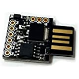 eRCaGuy Programmable Computa Pranksta USB Device/Mouse Jiggler--50 User Settings--Makes Friends Think Their PC is Hacked--Randomly Types Gibberish, Moves Mouse Cursor, and Even Puts PC to Sleep