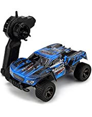 KINGBOT RC Cars, 1:18 Scale 2.4Ghz High Speed 20MPH/h Radio Control Cars Die-Cast Off-Road Vehicle with 50M Remote Control Racing Cars