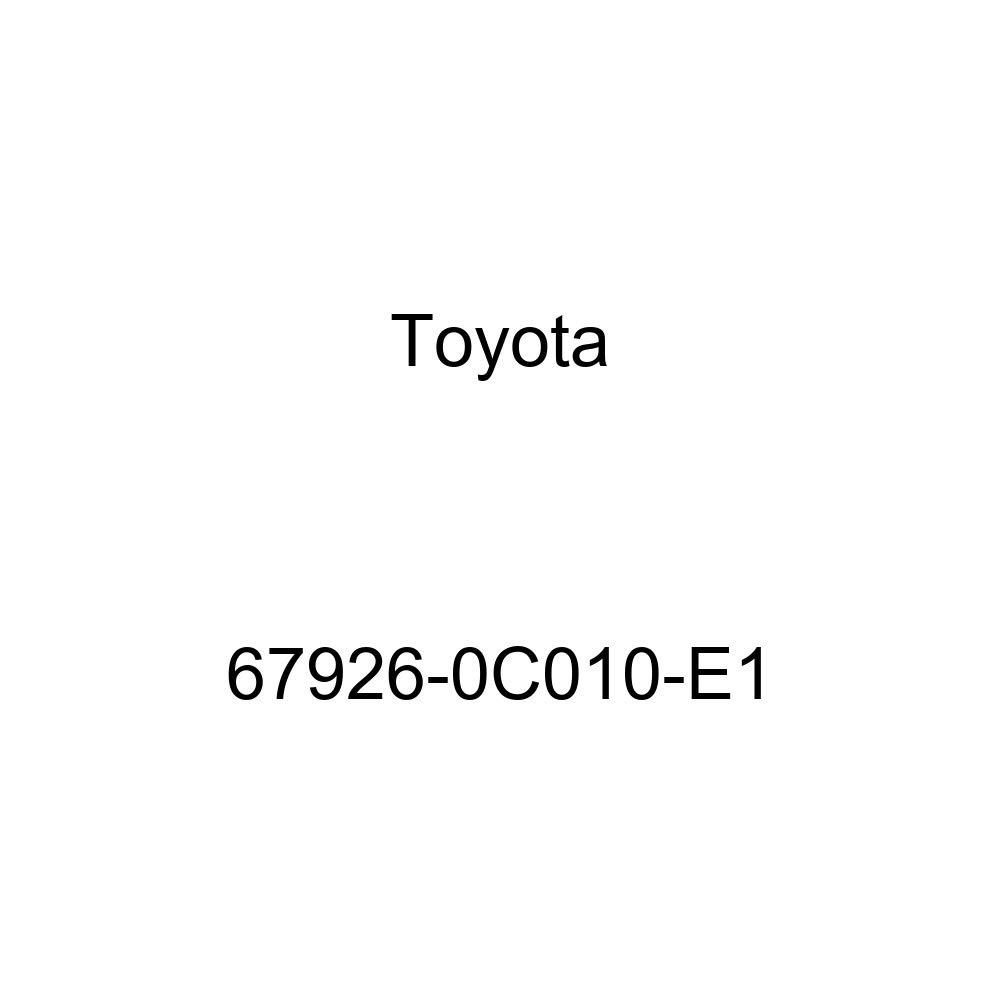 Toyota 67926-0C010-E1 Door Scuff Panel