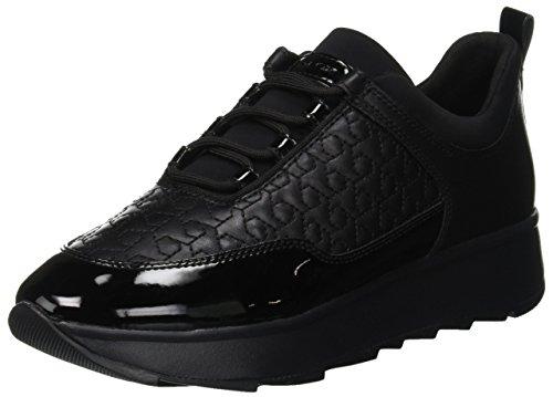 Gendry Noir C Femme D C9999 Sneakers Basses Geox black Bwx157nEq