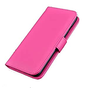 Iphone 6 Plus 5.5 Inches Pu Leather Wallet Case (PINK)