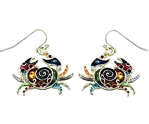 Hand Painted Earrings Jewelry - 7