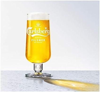 Single Carlsberg Export Pint 20oz Glass Brand New 100/% Genuine Official
