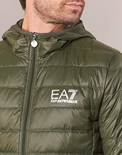 Xl Olive Jacket Packaway Hooded Ea7 qwgR8tvO