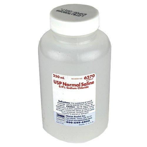 0.9% Sodium Chloride Sterile Saline 250ml 24pk