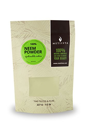 100% pure Neem Powder (Azadirachta Indica) 1/2 LB- ORGANICALLY GROWN -NEW! Resealable packaging