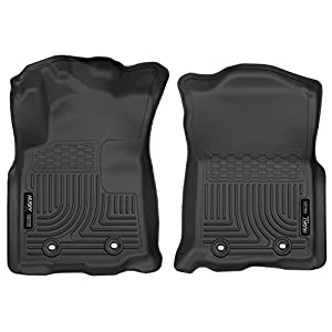 Husky Liners – 13971 Fits 2018-19 Toyota Tacoma Double Cab/Access Cab – Automatic Transmission Weatherbeater Front Floor…