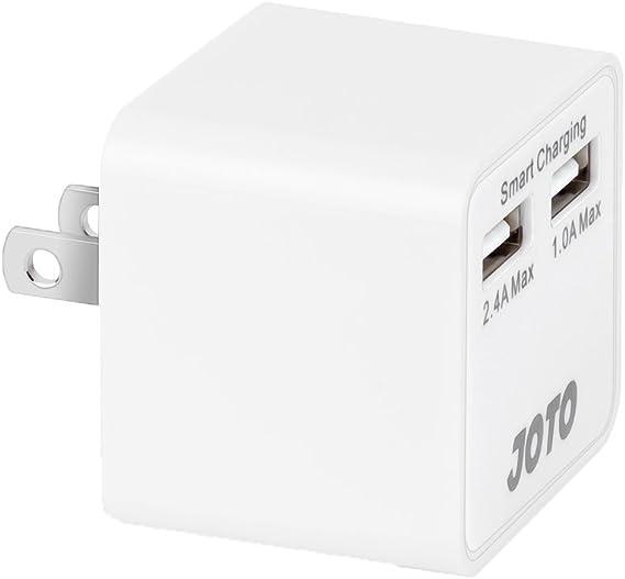 Amazon.com: JOTO Dual puertos USB cargador de pared ...