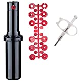 HUNTER PGP-ADJ Rotor Head 4 Pack with Nozzle Trees and Adjustment Tool