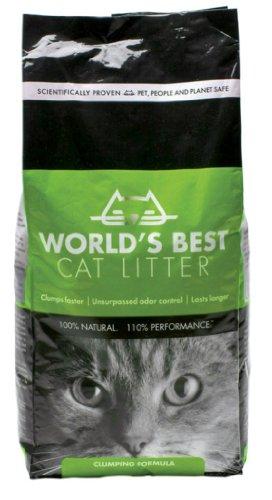 World's Best Cat Litter, Clumping, 8-Pound