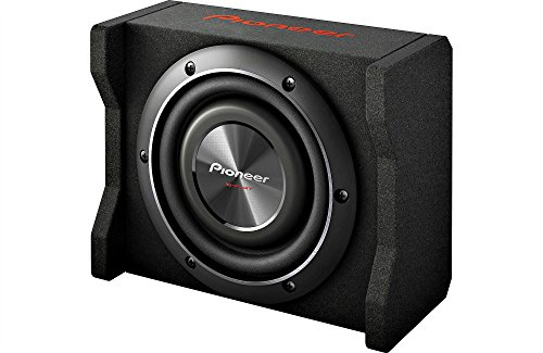 "Pioneer 8"" 600 W Max Shallow Mount Sealed Enclosure DVC Car"