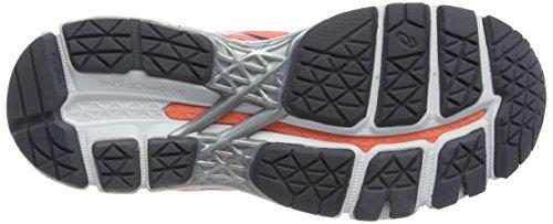 flash silver 22 carbon Coral Mujer Grey Asics Zapatillas kayano Running Gel De Naranja gWqB1
