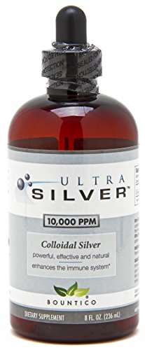 Ultra Silver Colloidal Silver 10000 PPM - 8 Oz