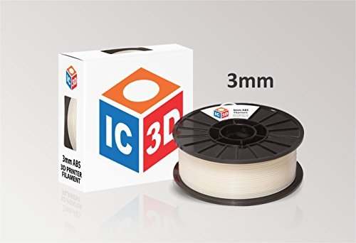 IC3D-High-Quality-Natural-3mm-ABS-3D-Printer-Filament-Dimensional-Accuracy-005mm-Professional-Grade-3D-Printing-Filament-MADE-IN-USA