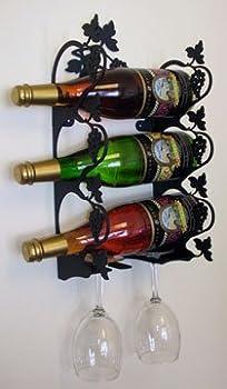 15.5 Inch Grapevine Wine Rack Wall Mount 0