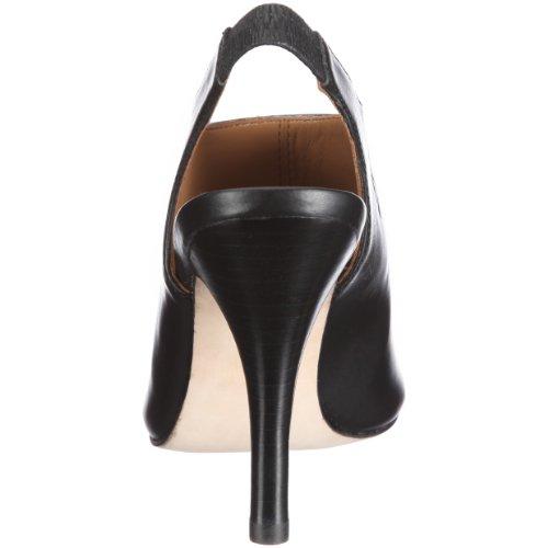 Belmondo 725620/M 725620/M - Sandalias de cuero para mujer Negro (Schwarz/Black)