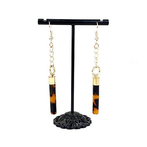 usongs Starting elegant long section geometric earrings earrings ear rods women girls personality simple ear jewelry