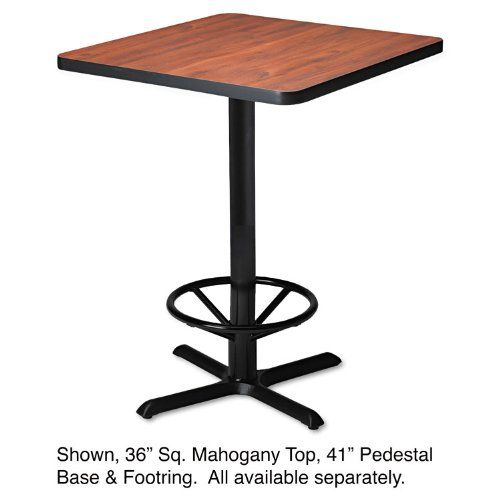 MLNCA41B2025 - Mayline Bistro Tables Black X-Shaped Base Mayline Bistro Tables