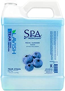 product image for TropiClean SPA - Lavish Dog Tear & Stain Remover - Oatmeal & Blueberry - 1 Gal.
