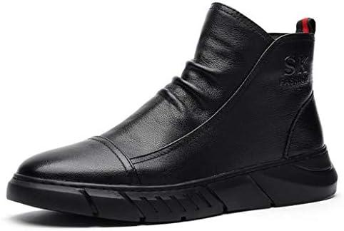 マーティンブーツ メンズ 牛革 選べる内側2タイプ 裏ボア ワークブーツ 雪靴 歩きやすい 防滑 防水 安全靴 レースアップ 厚底 ショートブーツ メンズ 作業靴 メンズブーツ 通気性 アウトドア 防水 お出かけ