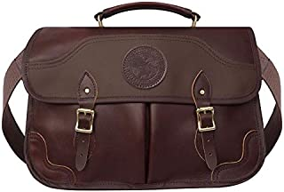 product image for Duluth Pack Leather Executive Briefcase (11 x 17 x 5-Inch, Brown)