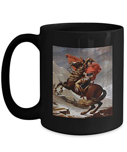 Napoleon Crossing the Alps - Early 19th Century Art: Ceramic Coffee Mug