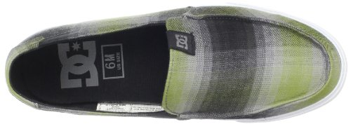 DC Shoes VILLAIN V TX SHOE D0303026 - Zapatillas para hombre Black/Olive