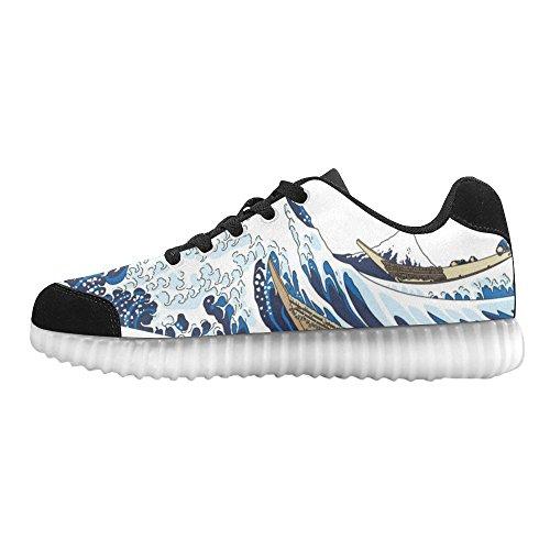 D-story Spöklika Händer Mode Sneakers Lyser Mens Skor Multicoloured24