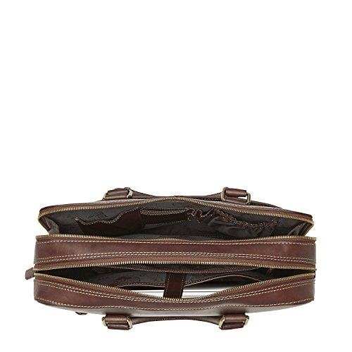 Picard Toscana Aktentasche Leder 37 cm Laptopfach Kastanie