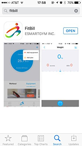 Esmartgym indoor exercise bike with bluetooth and app