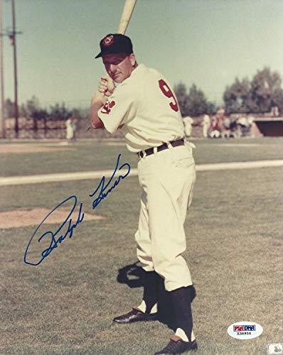 Ralph Kiner Autographed Signed Indians Baseball 8x10 Photo PSA/DNA Picture Autograph Hof