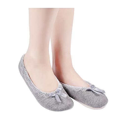 3 Da Paia Yoga Grigio Antiscivolo Pizzo Per Precoce L'educazione Calzini Shuzhen Pavimento Scarpe Calze Di Pavimento Adulti UqCnxwd