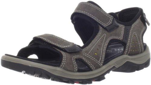 ECCO Men's Cheja Sandal,Warm Grey/Olive Oil,42 EU/8-8.5 M US (Ecco Sport Sandals)