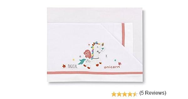 dise/ño unicornio color blanco Pirulos 00113201 50 x 80 cm S/ábanas