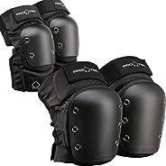 Pro-Tec - Street Knee and Elbow Pad Set, Black, M