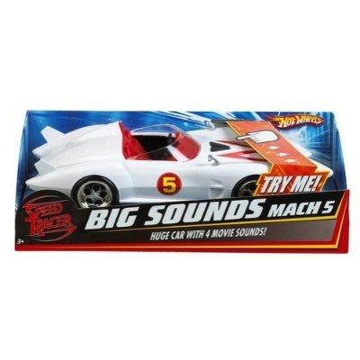 - HOT WHEELS Speed Racer Big Sounds Mach 5