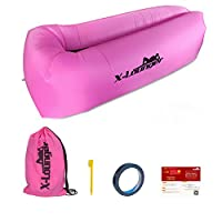 Air Lounge,Portable 0.8lbs Outdoor Blow Up Chair Waterproof Inflatable Lounger Chair Hang Out Hammock, Perfect Substitute for Folding Chairs,Air Sleeping Bags,Lazy Bags,Bean Bags,Pool Floats
