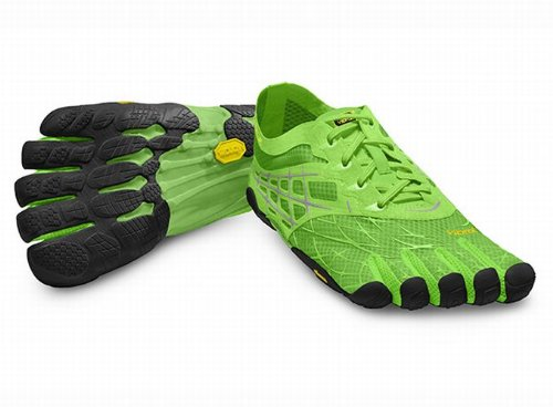 Vibram Five Fingers-Seeya LS (Homme)-orteils Chaussures-Green/Black taille: 43