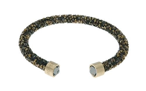 Swarovski Crystal Crystaldust Multi-Colored Cuff, Gold-Plated