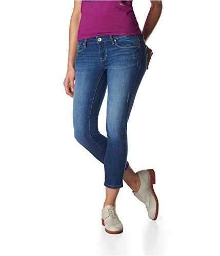Aeropostale 0208 Womens Cropped Jeggings
