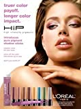 **PRINT AD** With Doutzen Kroes For L'Oreal HIP Shadows **PRINT AD**