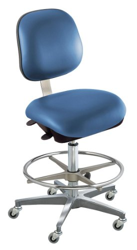 - BioFit - EEC-H-R-ATF-C10-AV106 - Upholstered Vinyl Ergonomic Chair with 22 to 32 Seat Height Range and 300 lb. Weight Capacity, Roy